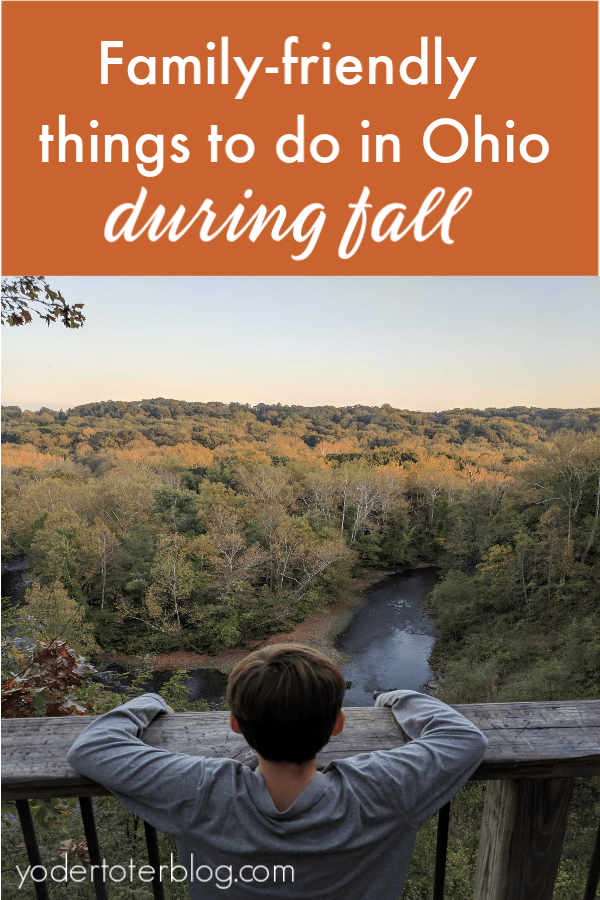 Things to do in Ohio in fall!  The best events, festivals, and ideas for your family to make the most of the fall season in Ohio.