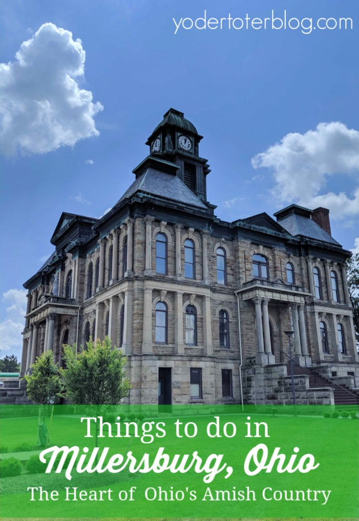 Things to do in Millersburg, Ohio.  Millersburg is the gateway to Ohio's Amish Country and offers plenty of shopping and dining opportunities.  Here is my guide to museums, parks, and restaurants. #mwtravel #ohio