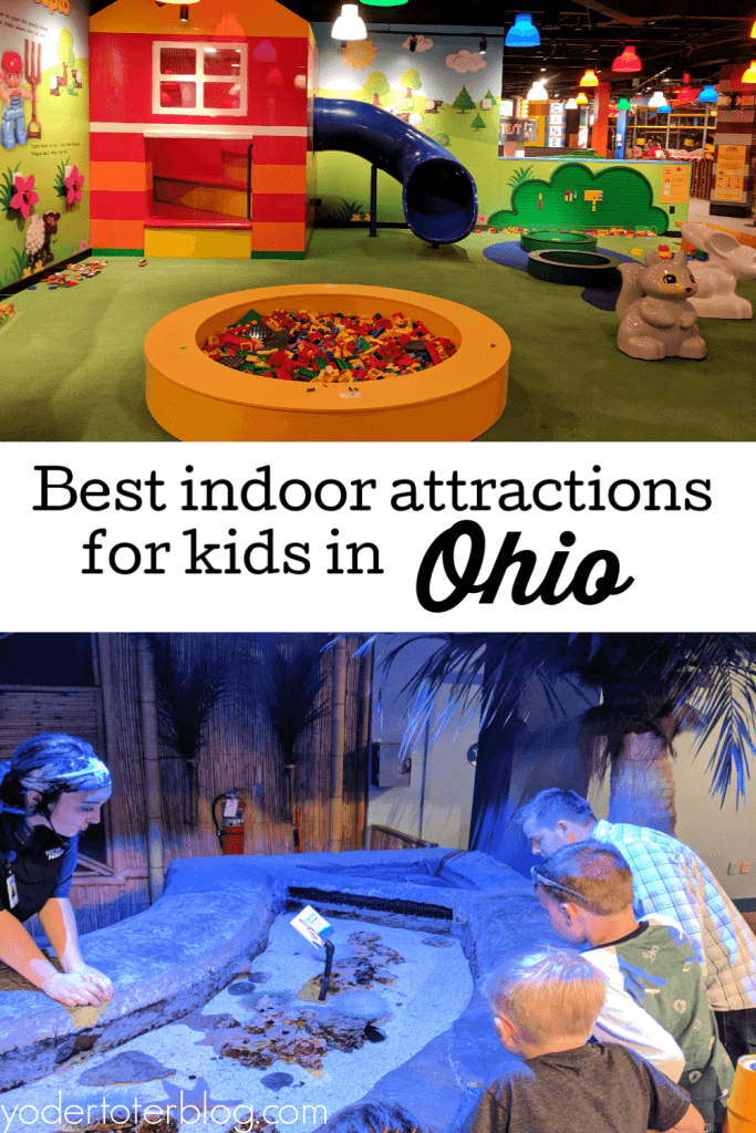 Best indoor attractions in Ohio.  Things to do with kids in Ohio during winter.  Here is my list of the 10 best attractions for families.