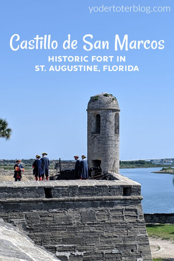 Castillo de San Marcos is a historic fort located in St. Augustine, FL.  The  unique structure - built from coquina- offers something for all ages.  Here are my tips for visiting Castillo de San Marcos with kids.