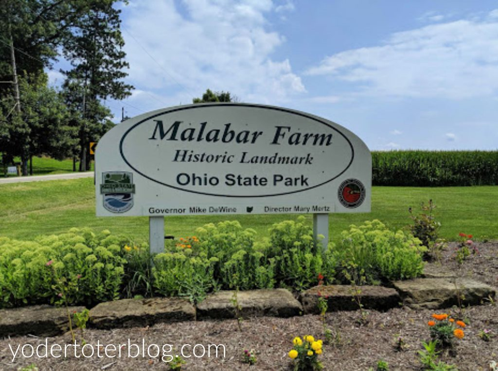 Malabar Farm State Park is one of my favorite Ohio State Parks.  The versatile park offers numerous hiking and educational opportunities.