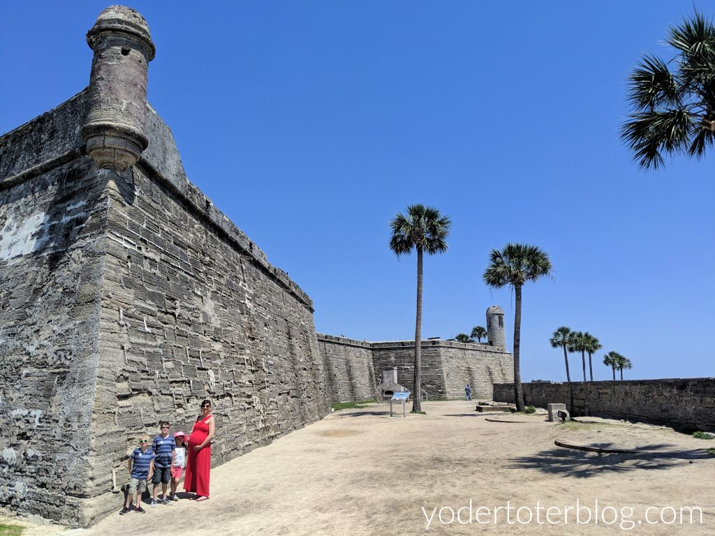 Historic fort of St Augustine, Castillo de San Marcos