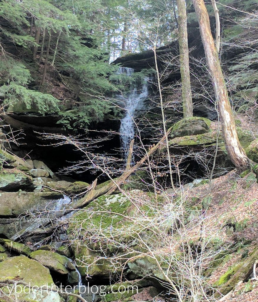 Hemlock Falls near Mohican State Park is one of my favorite waterfalls of Ohio.
