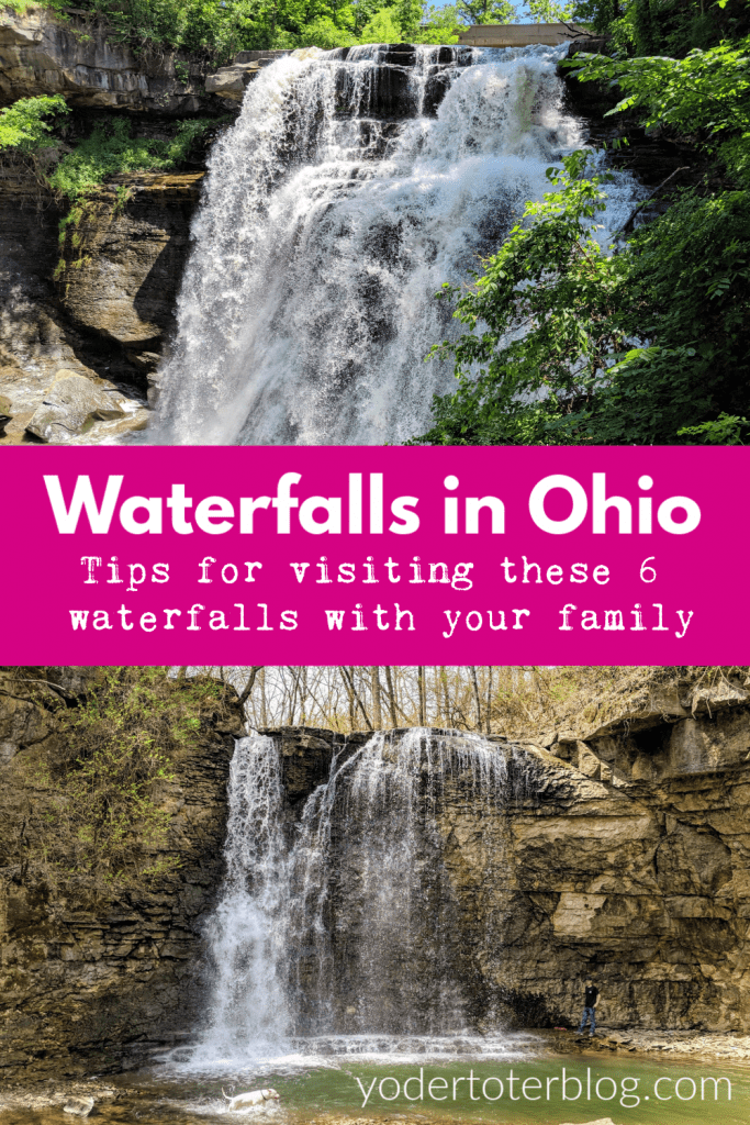 Waterfalls of Ohio - 6 gorgeous falls to satisfy your wanderlust.  Tips for visiting these waterfalls found throughout the state of Ohio.  #ohiofindithere #roadtrip