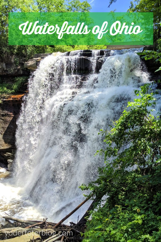 Ohio is full of natural beauty!  Cure your wanderlust with these 6 waterfalls of Ohio.  #ohiofindithere #Ohiotravel