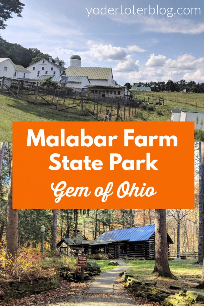 Malabar Farm State Park near Mansfield, Ohio is a versatile state park that offers everything from hiking, to an historic home tour, to petting farm animals and even a popular film site!  Malabar Farm is sure to be a hit with all ages.  #ohiofindithere