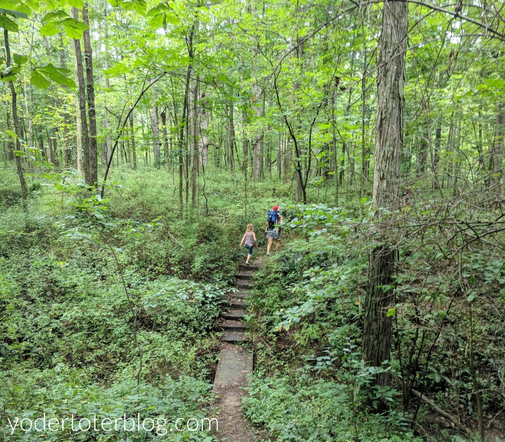 Hiking Blackhand Gorge with kids