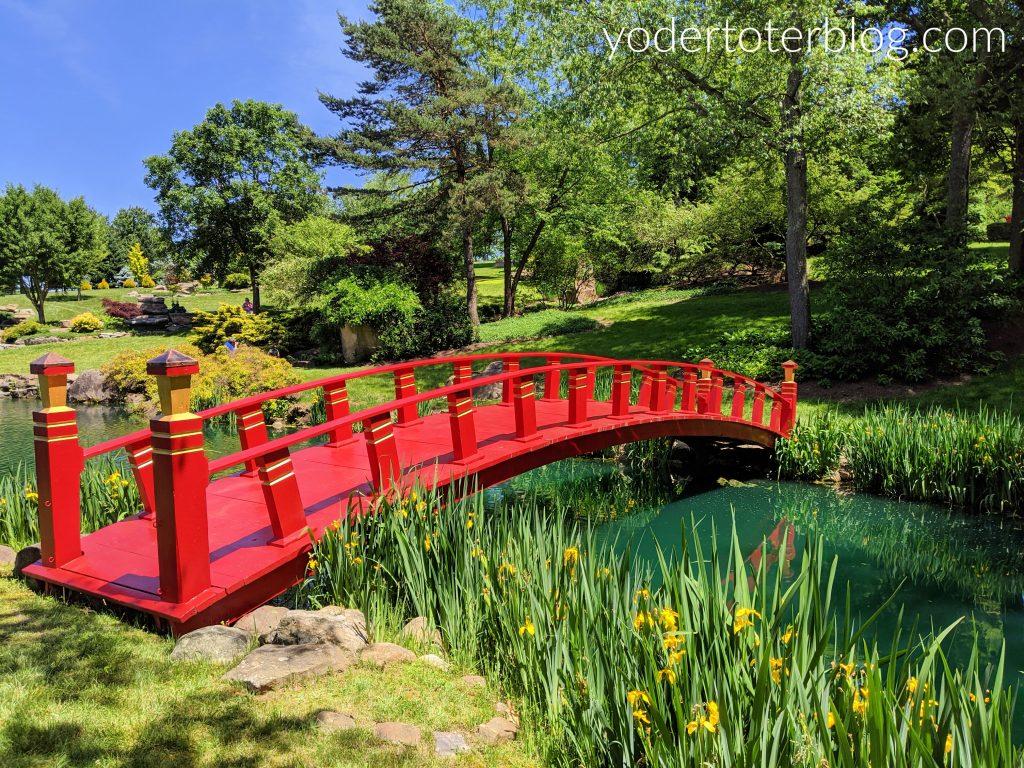 things to do in Mt Vernon Ohio- Schnormeier Gardens near Gambier