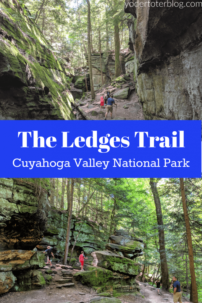 The Ledges Trail - Cuyahoga Valley National Park - Located near Akron & Cleveland, Ohio, here are my tips for hiking the Ledges Trail with kids.