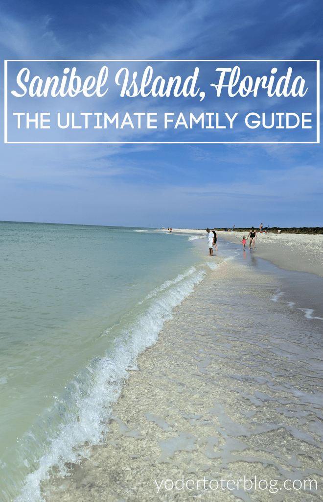The Ultimate First-timer guide to Sanibel Island.  Things to do on Sanibel Island with kids - where to shop and spend time at the beach with your family.