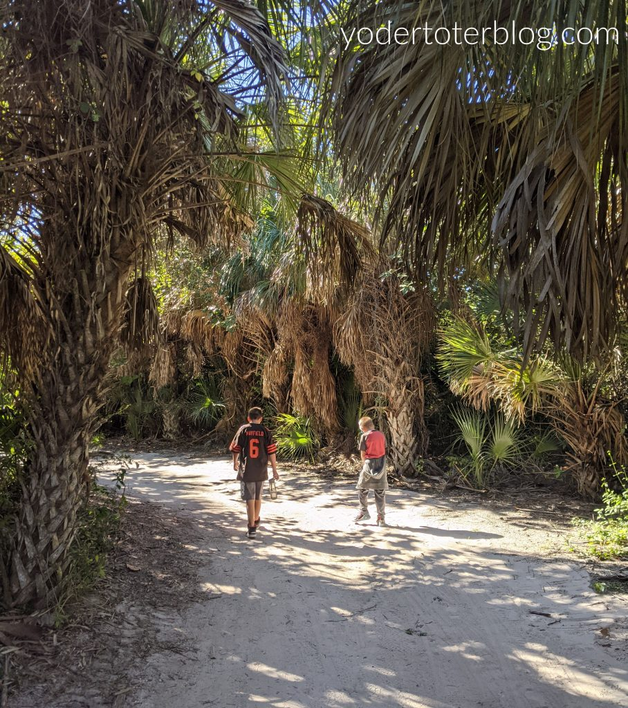 Eagle Trail, Lovers Key State Park, Fort Myers,, Southwest Florida