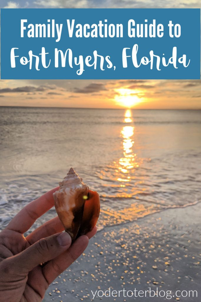 Family vacation in Fort Myers, Florida.  Everything you need to know about a beach trip to Fort Myers - tips for Sanibel Island, Cape Coral, and Fort Myers Beach.