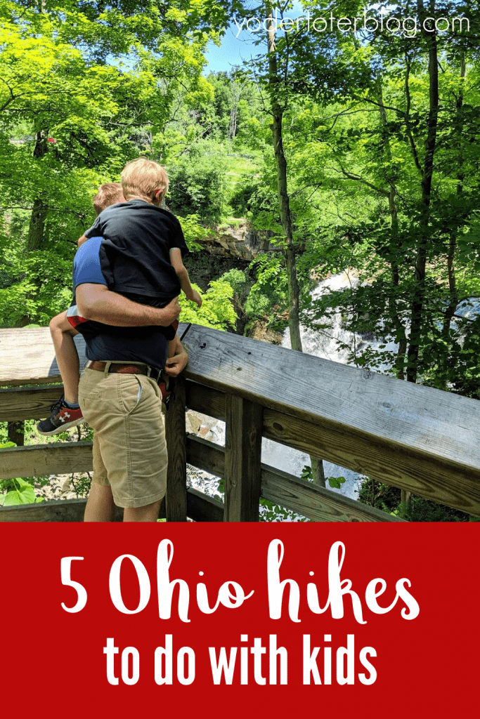 Things to do in Ohio with kids- Take a hike on these 5 kid-friendly hiking trails...plus tips for your family.