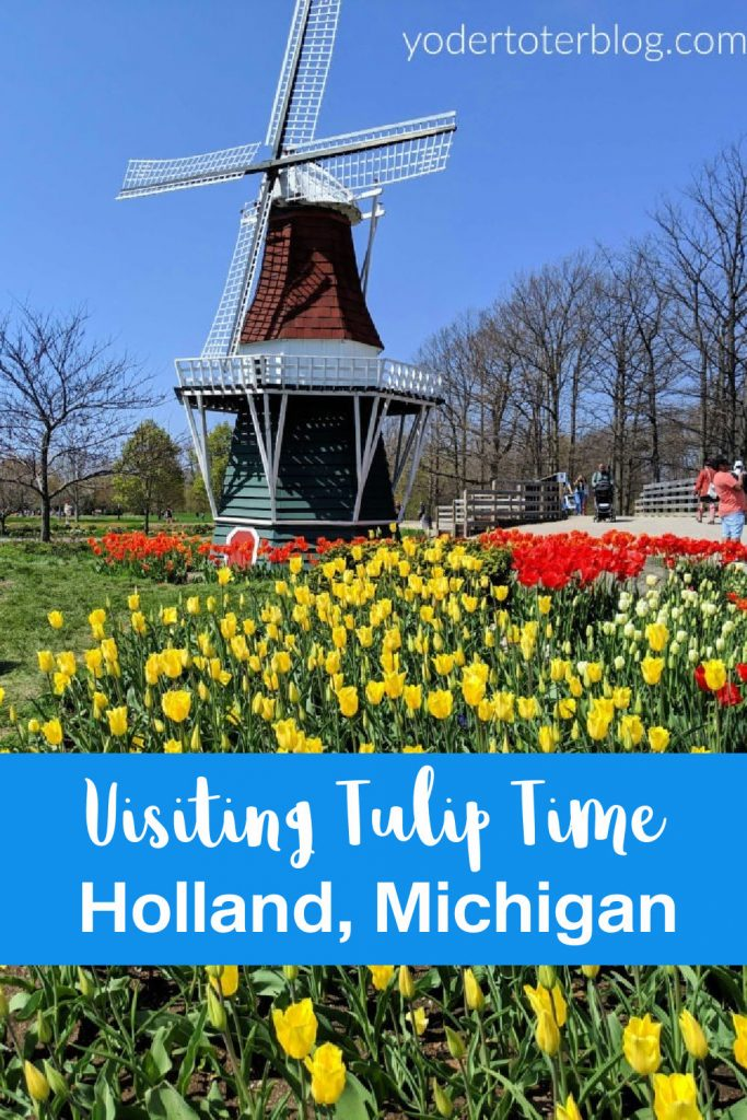 Things to do in Holland, Michigan during Tulip Time.  The Tulip Festival happens the first week in May.  This festival is fun for kids of all ages!  Here are my tips for when you go. #PureMichigan
