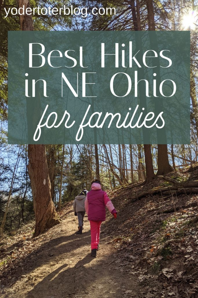 Best places to hike in Northeast Ohio - hiking trails in Northeast Ohio for families. What to do in Ohio