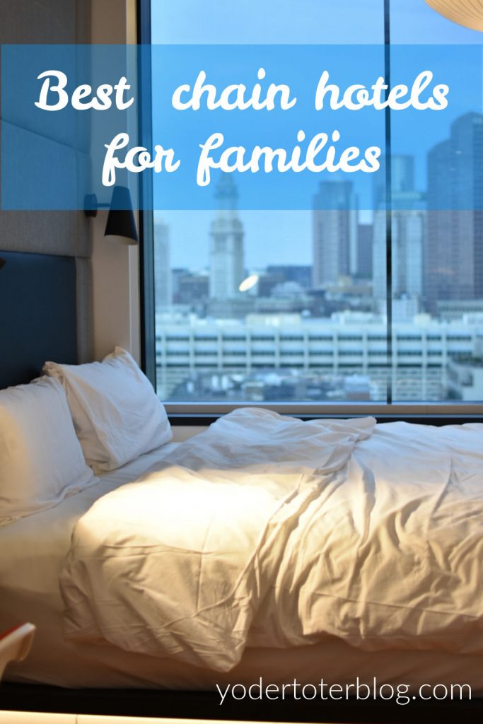 Best chain hotels for families - You can take to the kids to these American hotels that offer helpful amenities for families.