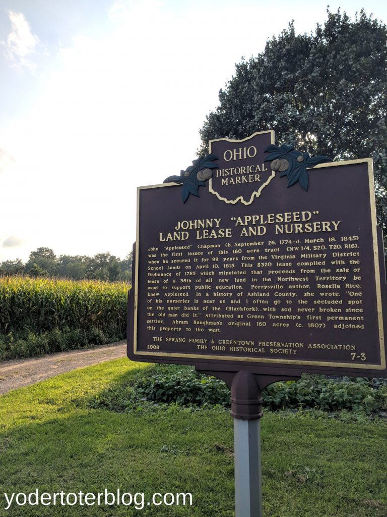 Johnny Appleseed Byway - located close to Mohican State Park