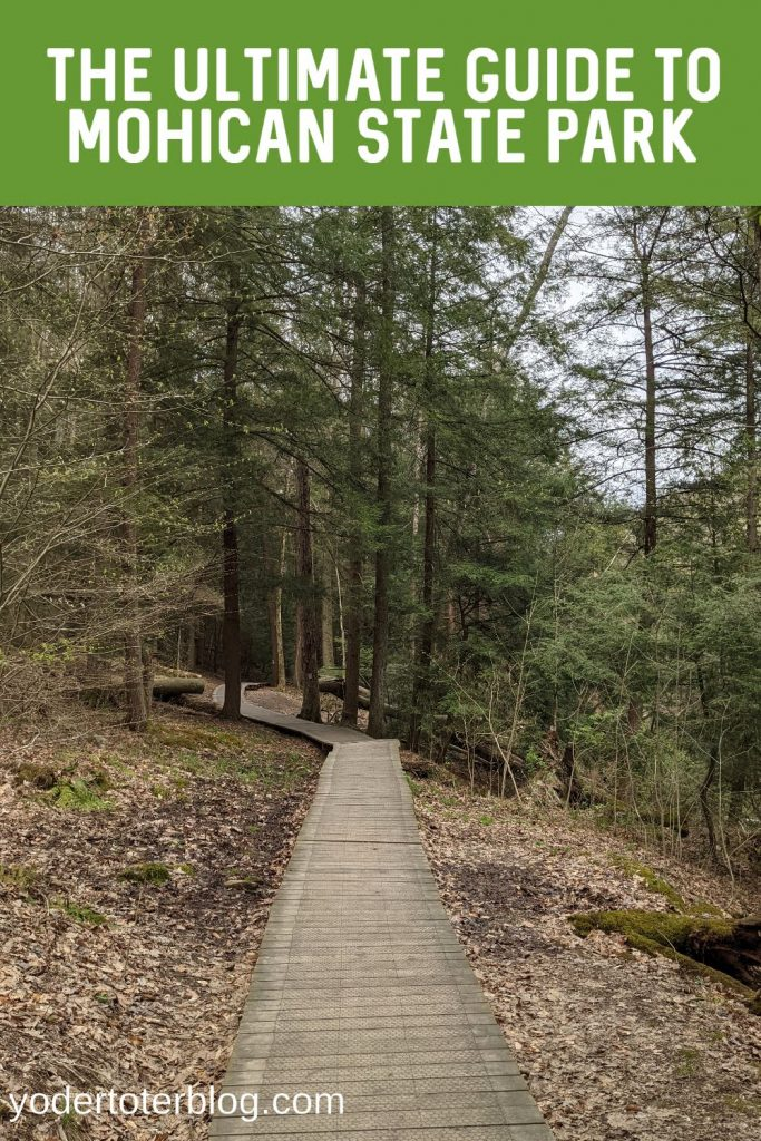 Ultimate Guide to Mohican State Park, Ohio.  Mohican State Park hiking trails - things to see in Mohican State Park - things to do with kids