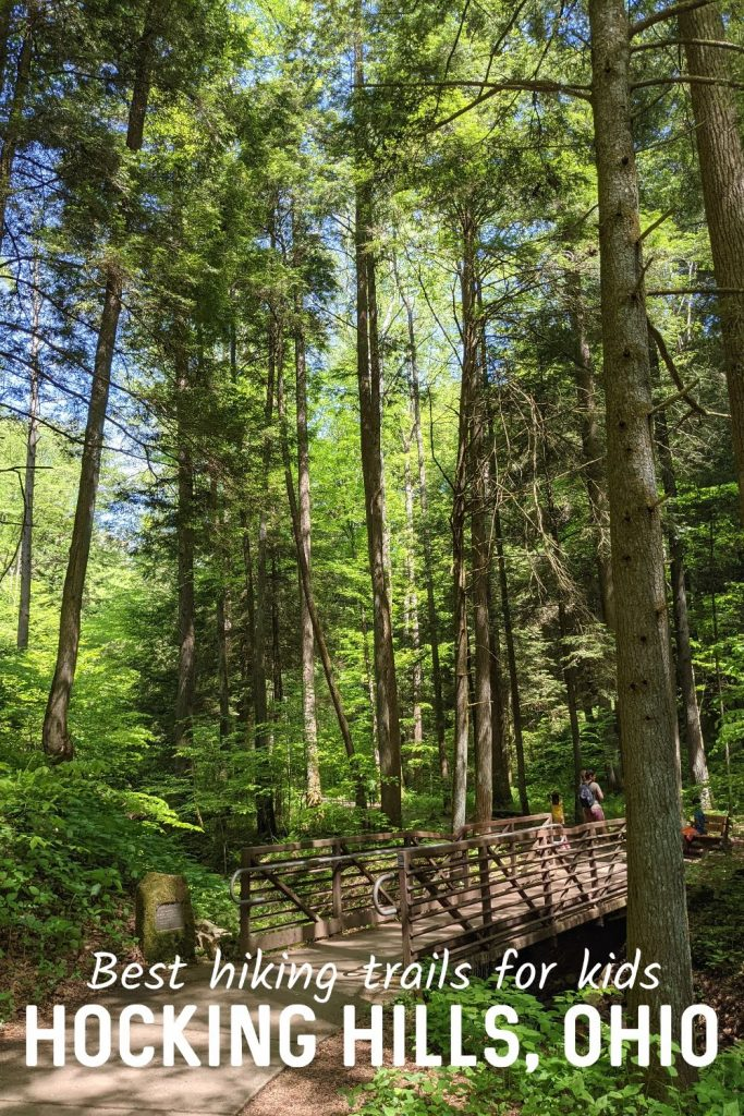The best hiking trails for kids at Hocking Hills. Family-friendly activities within Hocking Hills State Park.  Things to do with kids Hocking Hills.