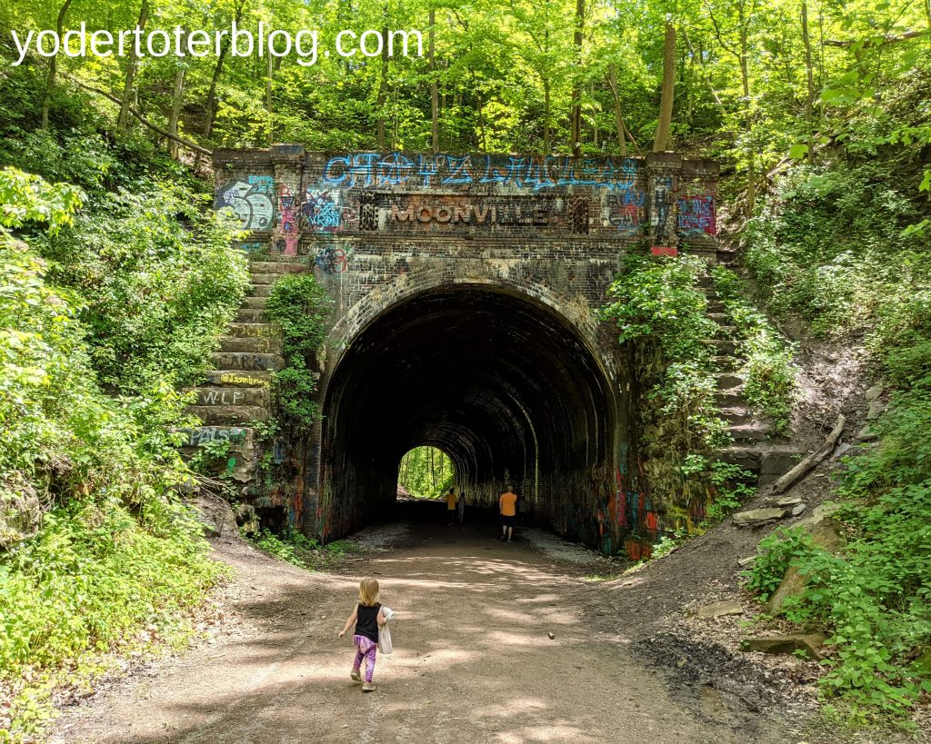 Moonville Tunnel - Hocking Hills Family itinerary