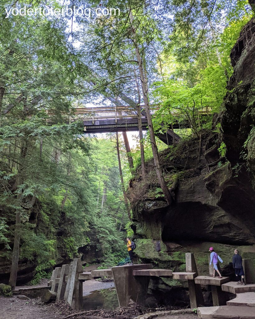 A day trip to Hocking Hills with kids - things to do in Hocking Hills with kids