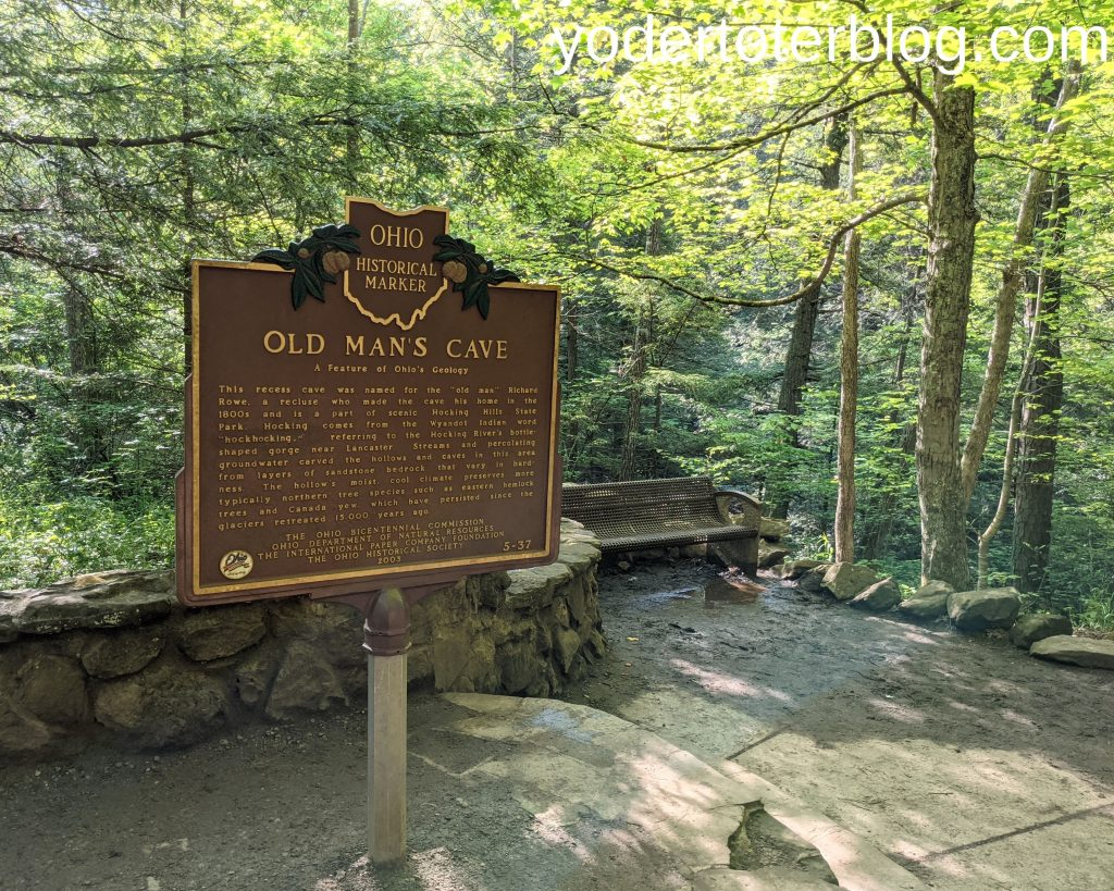Old Man's Cave - Hocking Hills for families - Hocking Hills family itinerary