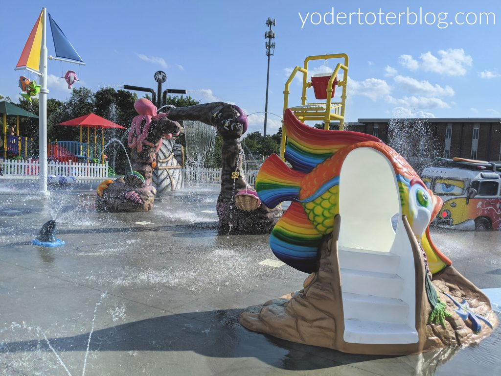 Things to do in Ohio during August - visit the Mansfield YMCA Splash Pad