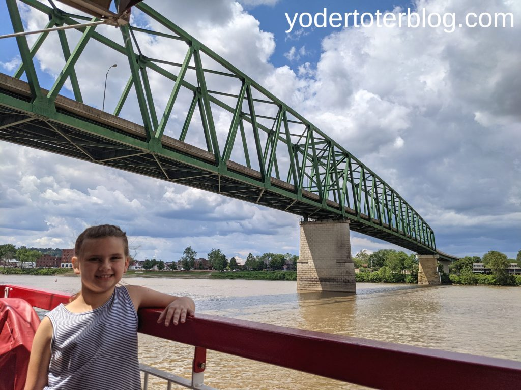 views form the Valley Gem Sternwheerler- things to do in Marietta, Ohio - why you must visit Marietta, Ohio