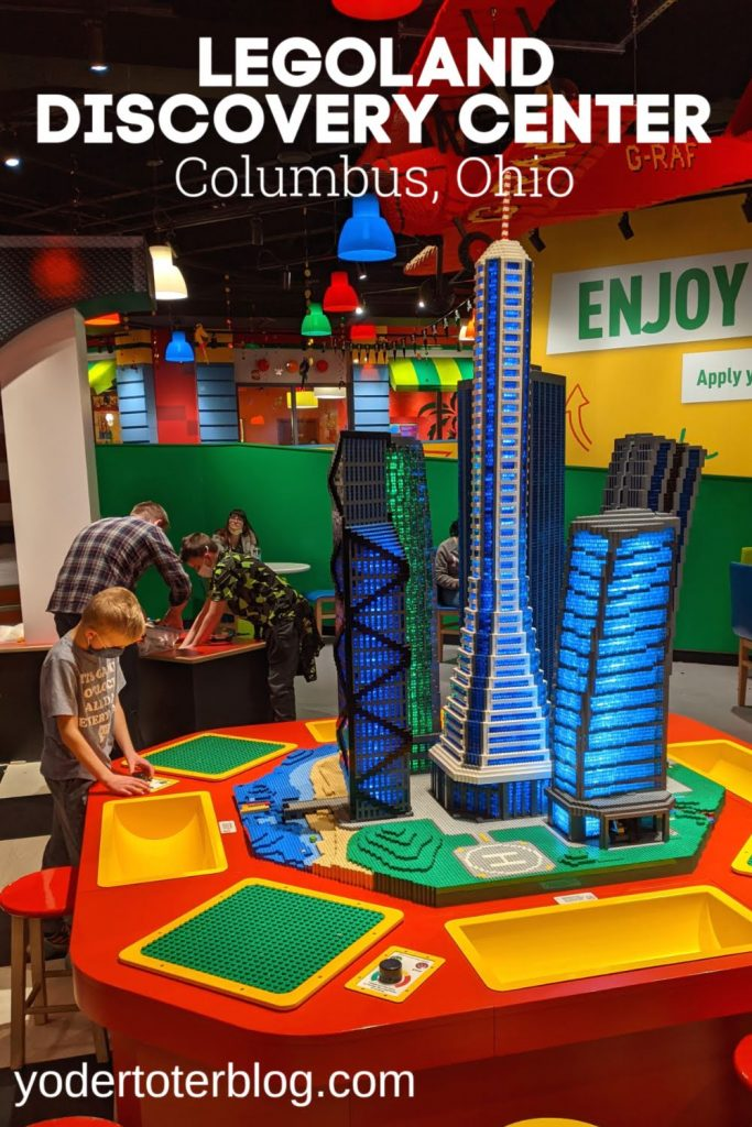Things to do in Columbus, Ohio - The LEGOLAND Discovery Center is an excellent attraction for families.  Tips for if you take your kids to the Legoland Discovery Center in Ohio.