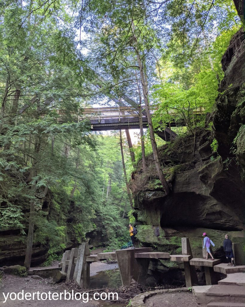 Old Man's Cave- Hocking Hills family itinerary - Hocking Hills with kids