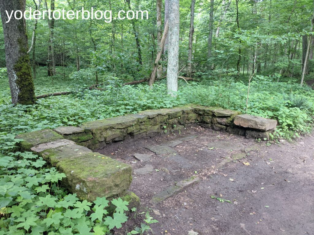 Gorge Overlook Trail - Mohican State Park  - this newly reopened trail is great for adventure seekers looking for a difficult hiking trail in Ohio.