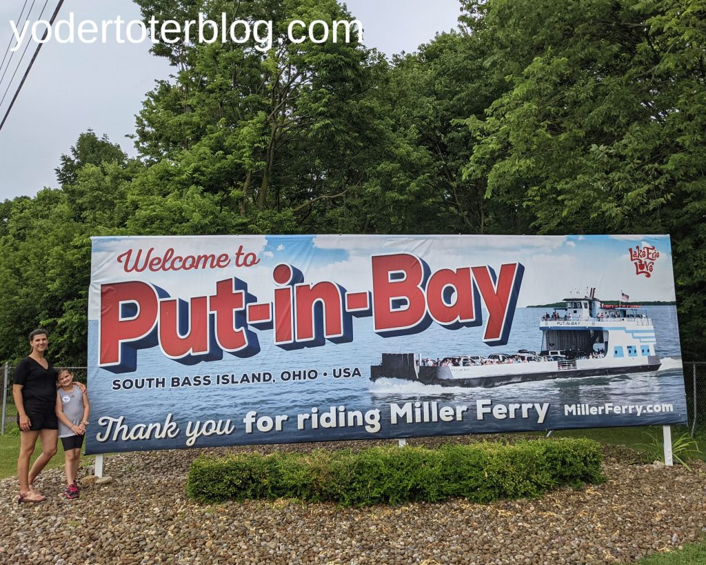 Things to do in Ohio during August - visit Put-in-Bay - things to do in Ohio before the end of summer