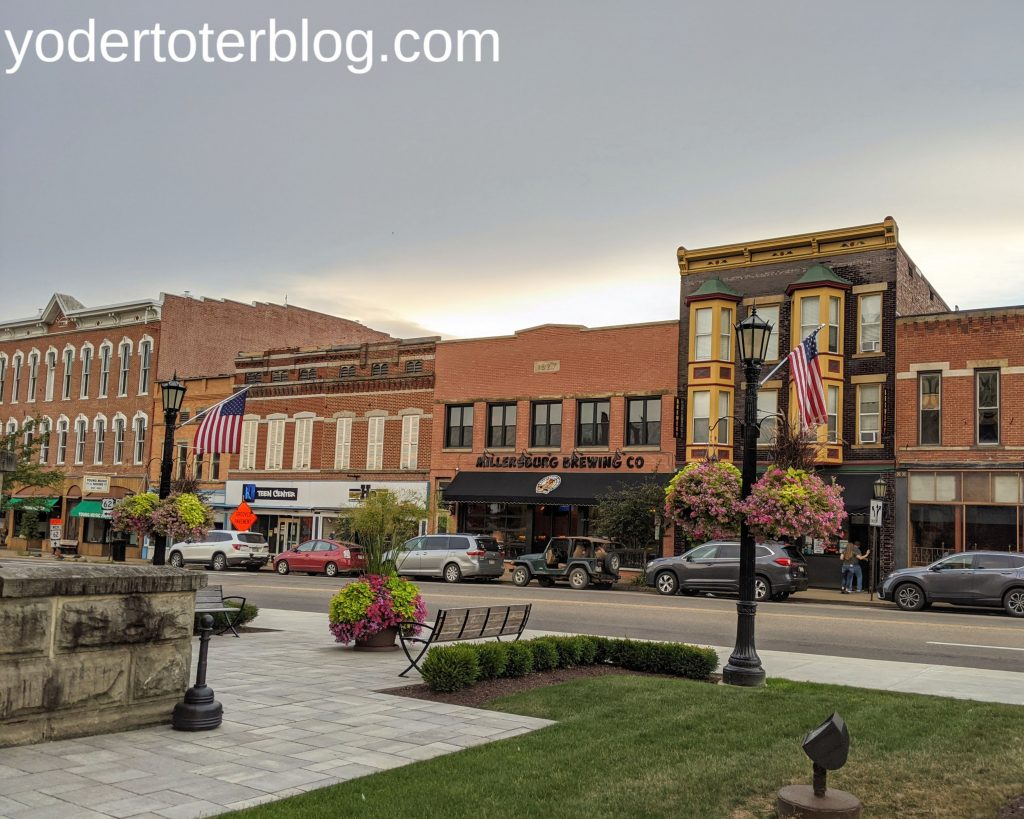 things to do in Ohio during August - visit Amish Country and Millersburg