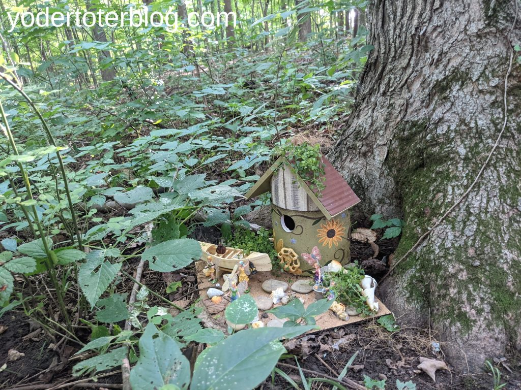 Fairy Trail at Infirmary Mound Park in Granville, Ohio